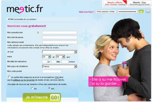 Rencontre meetic homme